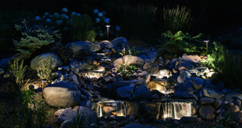 Landscape Design Installation Outdoor Lighting