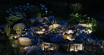 Landscape Design Installation Outdoor Lighting